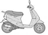 Zip 50 Fast Rider RST Alvázszám: ZAPC 07000 0001001