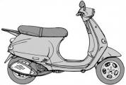 ET 125 Régi verzio Alvázszám: ZAPM04000