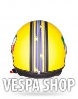 Vespa V-Strip sárga bukósisak