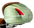 Zöld színű Vespa GTV hátsó doboz (színkód: Verde Portofino 305/A)