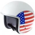 Amerikai zászlós Vespa bukósisak