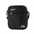 Medium shoulder bag, black