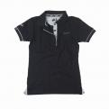 Galléros fekete Vespa 946 női póló - S