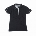 Galléros fekete Vespa 946 női póló - XS