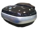 Fekete Piaggio X10  hátsó doboz (színkód: Nero Cosmo 98/A)