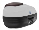 Fehér Piaggio X10  hátsó doboz (színkód: Bianco Perla 566)