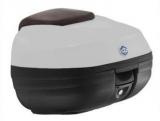 Barna Piaggio X10  hátsó doboz (színkód: Marrone Mercurio 120/A)