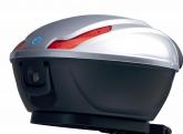 Fehér Piaggio MP3 300ie Hybrid doboz (színkód: Bianco Perla 566)
