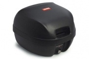 Fekete Aprilia Scarabeo doboz (nem fényezett)