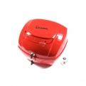 Piros Vespa hátsó doboz (színkód: Rosso Dragon 894)