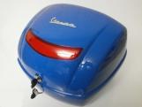 Kék Vespa hátsó doboz (színkód: Azzurro Mediterraneo 244/A)