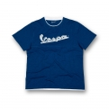 Kék Vespa férfi póló