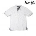 Galléros Vespa 946 férfi póló - fehér