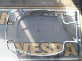 Vespa PX Hátsó krómozott bukókeret