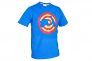 Vespa férfi póló Target, kék