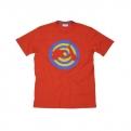 Vespa férfi póló Target, piros
