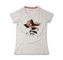 Vespa PX női póló, bézs színben