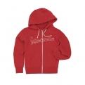 Vespa női kapucnis pulóver, piros