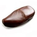 Vespa bőr ülés barna