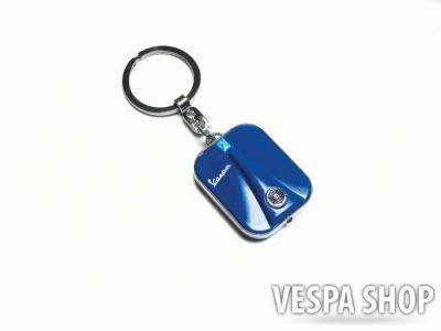 Ledes kulcstartó, kék