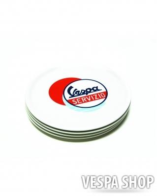 Pizza tányér - Vespa Servizio
