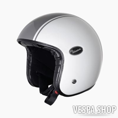 Vespa Fibre & Carbon 14 bukósisak fehér